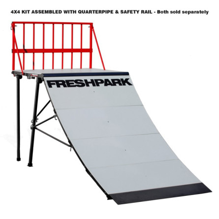FreshPark 4 x 4 Quarterpipe Kit